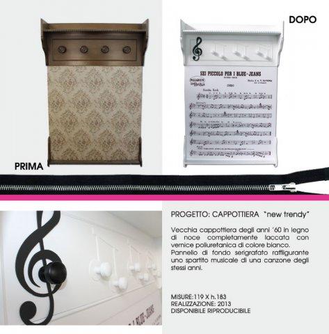"""portfolio cappottiera - Cappottiera """"New Trendy"""""""