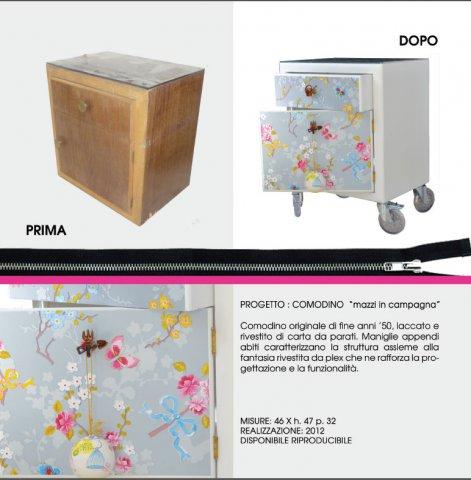 """portfolio comodino - Comodino """"Mazzi in compagnia"""""""