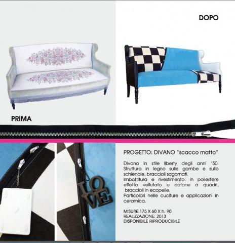 """portfolio divano - Divano """"Scacco Matto"""""""