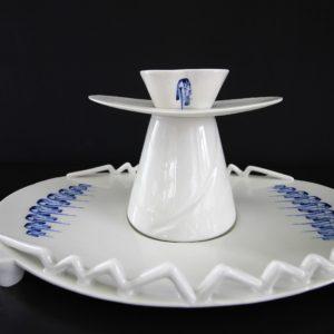 IMG 5120 300x300 - Vitruvio Design Alzata in porcellana di Capodimonte