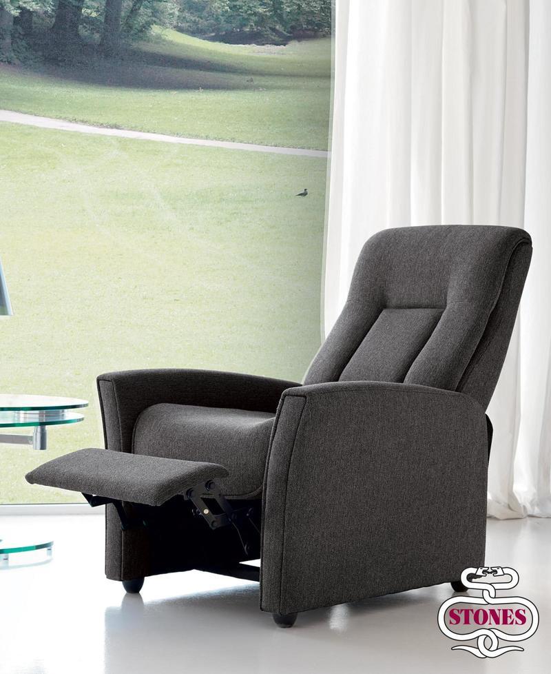 Poltrona relax Alessandra RE001LINO - MSD Design