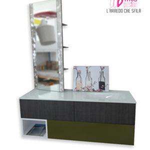 b1 300x300 - Mobile contenitore con lavabo e specchio