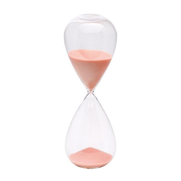 clessidra light pink bhv15011 600x600 - Clessidra Bitossi 60 minuti rosa chiaro