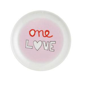onelove17 300x300 - Piatto dolci one love Bitossi ∅ 17 cm.