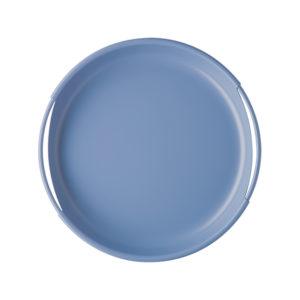 vassoio metallo ceruleo rin31 300x300 - Vassoio Bitossi Ring Ceruleo ∅ 28 cm.