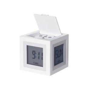 lexon cubissimo bianco 300x300 - Lexon Orologio Sveglia Cubissimo